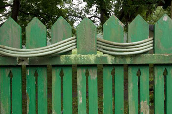 fence at the farm